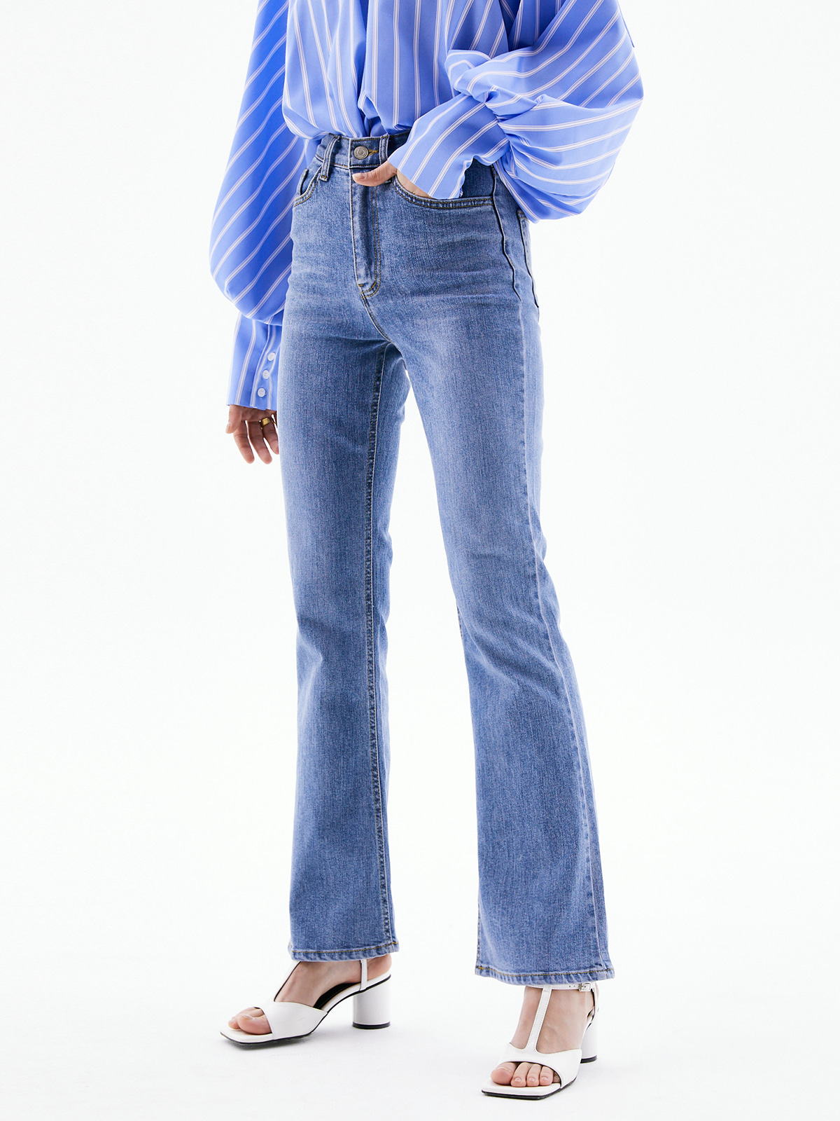 Jamie Bootscut Denim Pants