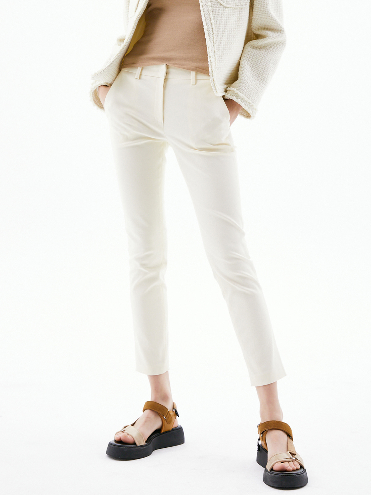 Blaire Stretch Cotton Pants